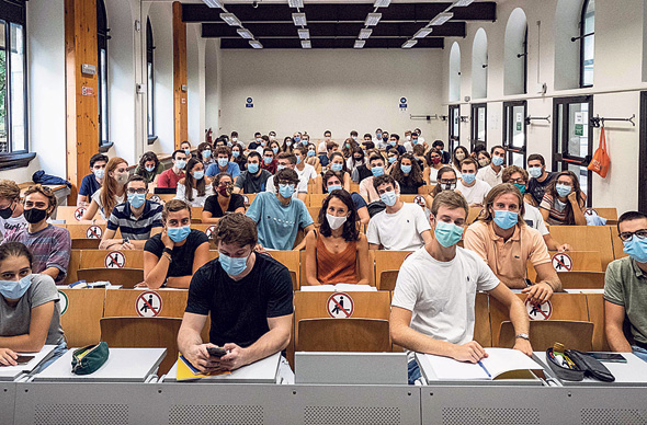 סטודנטים במילאנו