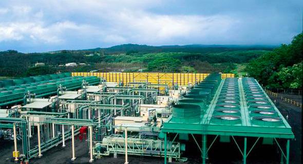 המתקן של אורמת טכנולוגיות בהוואי