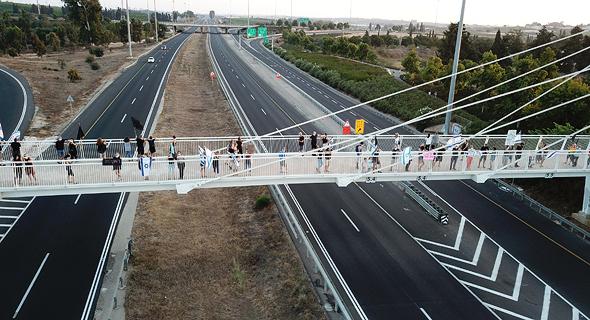 גשר המיתרים, צילום: יאיר שגיא