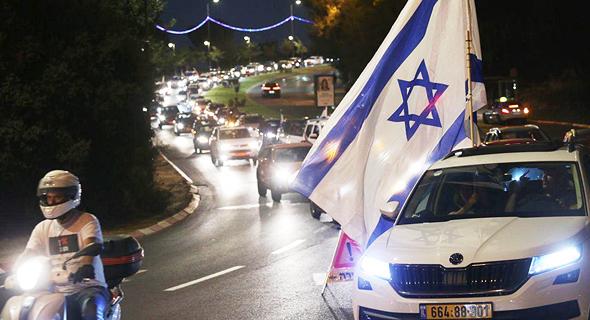שיירה לירושלים, צילום: אלכס קולומויסקי
