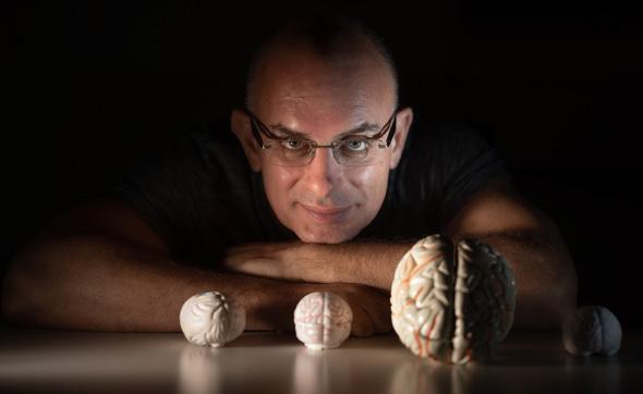 Dr. Oren Shriki, the Department of Cognitive and Brain Sciences at Ben-Gurion University Photo:Dani Machlis