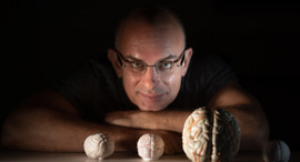 Dr. Oren Shriki, the Department of Cognitive and Brain Sciences at Ben-Gurion University Photo:Dani