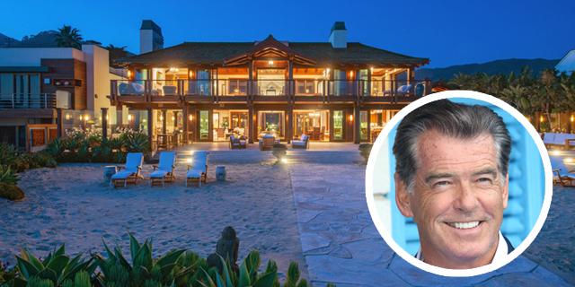 לחיות כמו ג'יימס בונד: הווילה של פירס ברוסנן במאליבו מוצעת למכירה תמורת 100 מיליון דולר