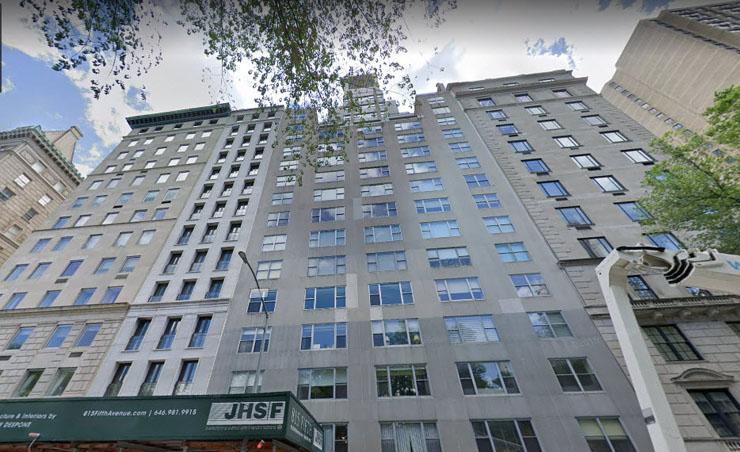 המגדל בשדרה החמישית שבו נמצאת הדירה, צילום: Google Maps