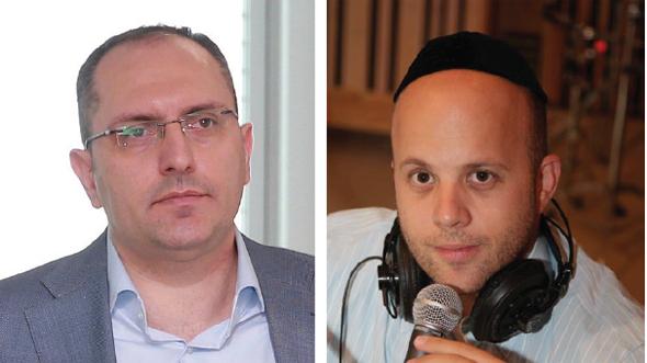 מימין: מנחם טוקר ו מוטי בן משה, צילומים: אביגיל עוזי, אוראל כהן