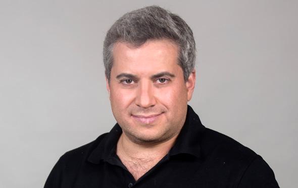 Pasha Romanovski, co-founding partner at Hanaco and existing board member. Photo: Amir Levy
