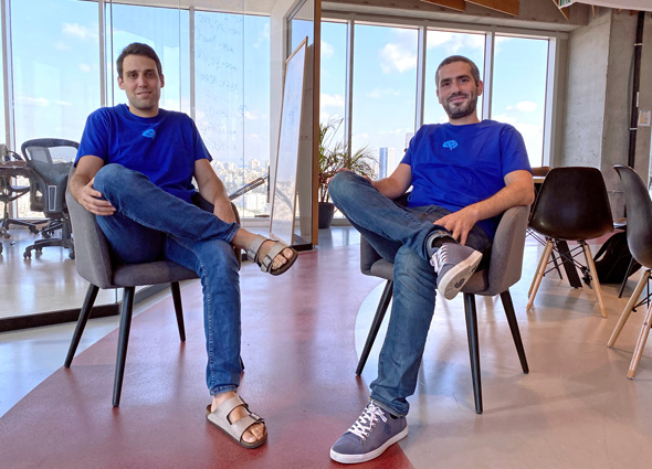 Coralogix co-founders Yoni Farin (left) and Ariel Asraf. Photo: PR