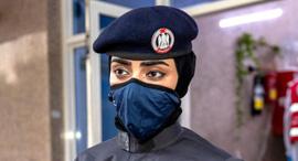 משטרה אבו דאבי אכיפה קורונה, צילום: thenational