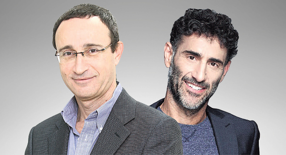 מימין בועז דינטי שותף־מנהל בקרן הצמיחה קומרה קפיטל ודן שמגר שותף במשרד עורכי דין מיתר