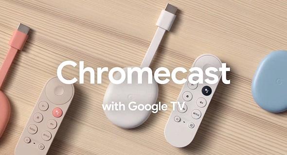 כרומקאסט עם גוגל TV