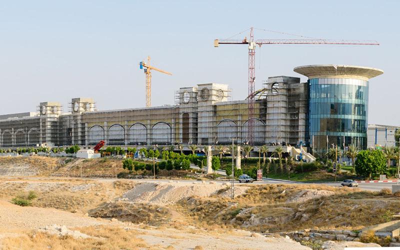 דיזיין סיטי המתחם בבנייה זירת הנדלן