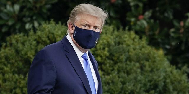 רופאיו של טראמפ: הנשיא ממשיך להשתפר, עשוי להשתחרר מחר