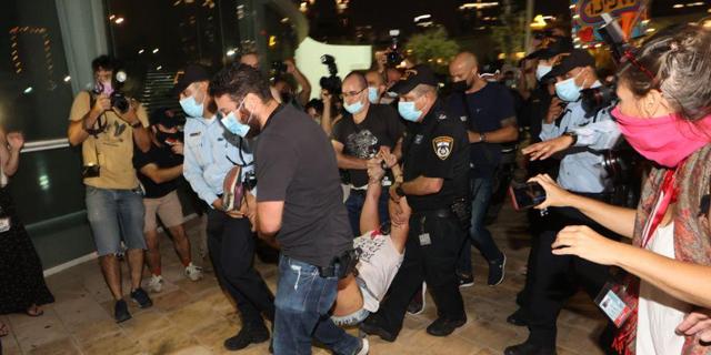 ישראל שברה שיא של הגבלות על הפגנות אזרחים
