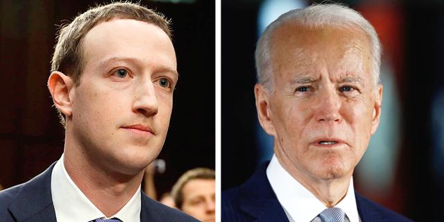 קמפיין ביידן מתריע מהסכנות בפייסבוק - אך צוקרברג מסרב להקשיב