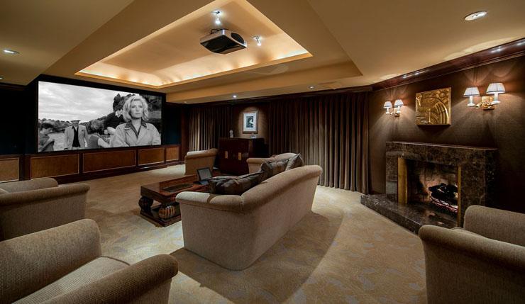 חדר הקולנוע הביתי