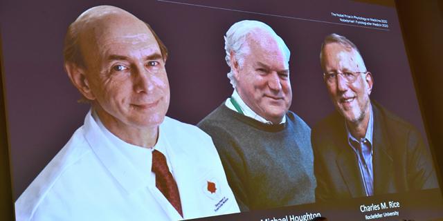 פרס נובל ברפואה הענק לשלושה חוקרים על תגלית נגיף הפטיטיס C