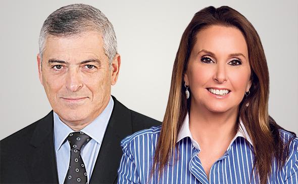 מימין שרי אריסון ו עודד קוטלר