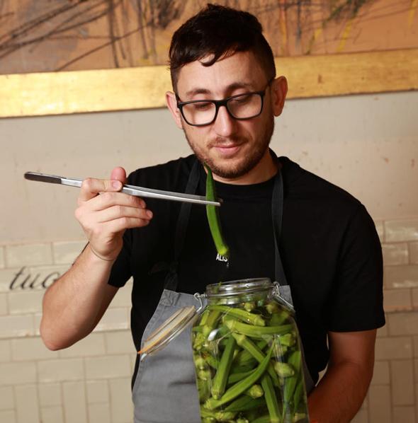 """גיא אריש, הסו שף של מסעדת פרונטו בת""""א, צילום: אוראל כהן"""