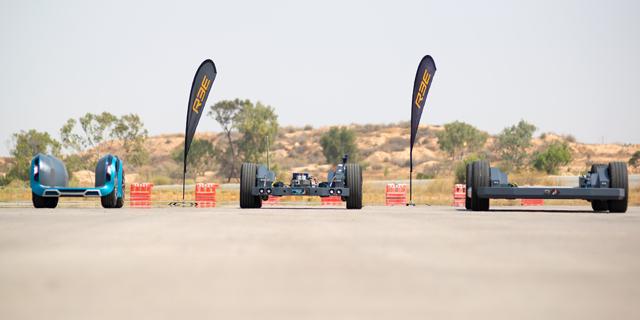 ענקית גלגלים ברזילאית תשתמש בפלטפורמת הרכב החכם של REE הישראלית