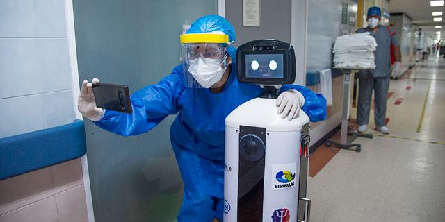 ללא סכנת הידבקות: פריחת הרובוטים בעידן הקורונה