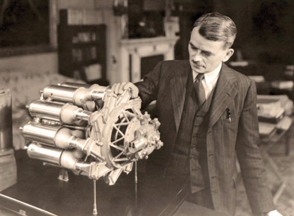 פרנק וויטל הבריטי ודגם מנוע הסילון שהמציא