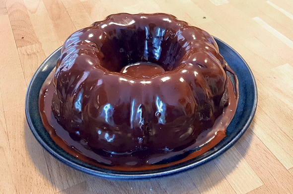 עוגת שוקולד שמנת חמוצה של יהלומה לוי, צילום: יהלומה לוי