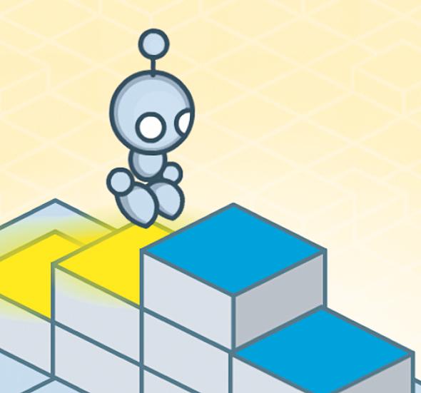אפליקציית  Lightbot
