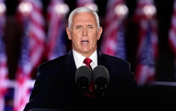 """סגן נשיא ארה""""ב מייק פנס"""