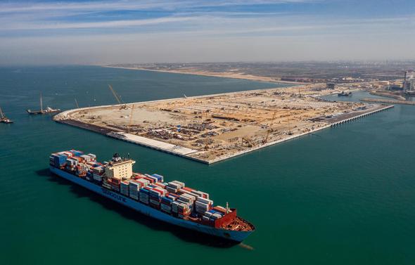 נמל אשדוד החדש, צילום: חברת נמלי ישראל