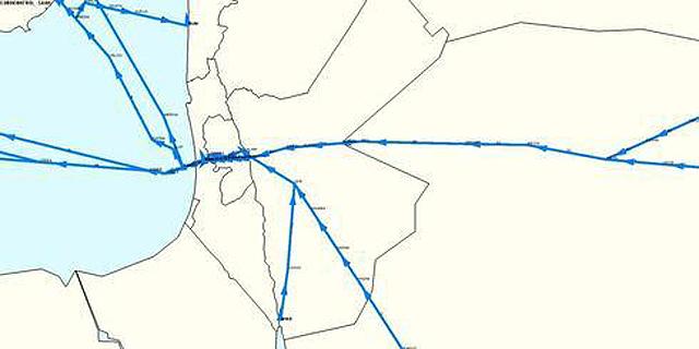 הסכם תעופה היסטורי עם ירדן: טיסות שחולפות באיראן יעברו בשמי ישראל?