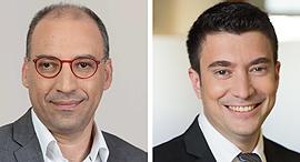 מימין שמואל בן אריה פיוניר ניהול הון ו ערן פלג קלריטי קפיטל השקעות באי-ודאות