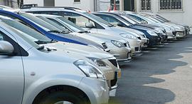 מגרש מכוניות למכירה, צילום: עמית שעל