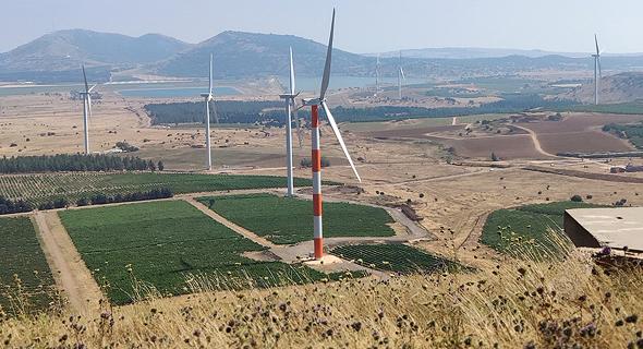 טורבינת רוח של אנלייט בעמק הבכא, צילום: שי שלום