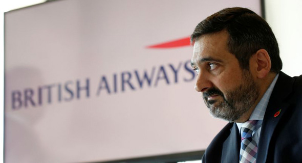 """מנכ""""ל בריטיש איירווייז המתפטר, אלכס קרוז, צילום: רויטרס"""