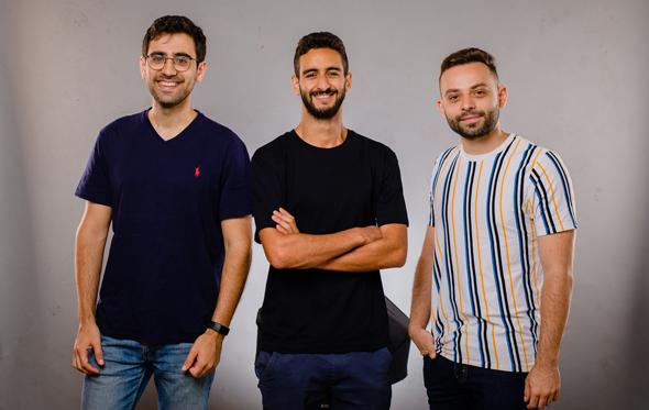 Bar Mor, Lior Dolinski, and Noam Kahan. Photo: Yarin Tarnus