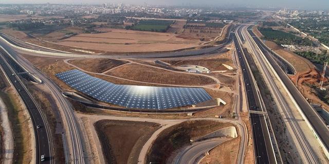 נתיבי ישראל: מכרז ראשון בפרויקט להתקנת פאנלים סולאריים במחלפים
