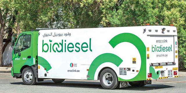 משאית ביודיזל של ENOC, צילום: gulftoday