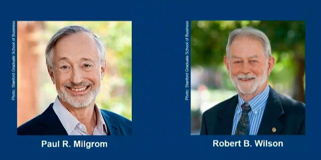 פרס נובל לכלכלה - לשני חוקרים אמריקאים עבור תרומתם לשיפור תיאוריות מכרזים