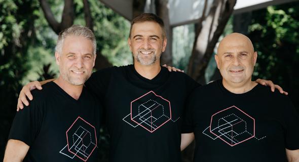 Ron Zass, Michael Sasson, Shalom Bellaish. Photo: Constru.ai