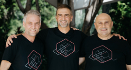 Ron Zass, Michael Sasson, Shalom Bellaish. Photo: Constru.ai