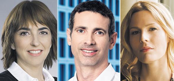 מימין: קארן שווק, אליאב בר דוד ושרה קנדלר