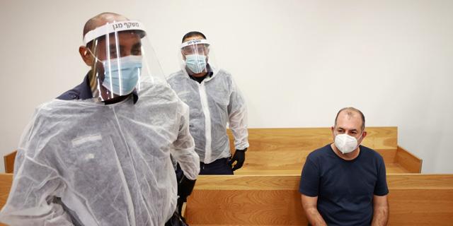 אמיר ברמלי בבית המשפט, צילום: עמית שעל