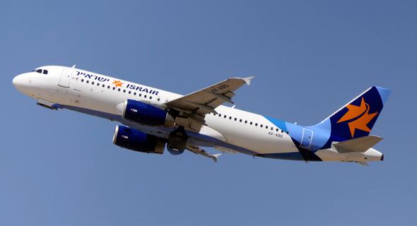 מטוס ישראייר, צילום: דני שדה