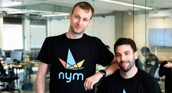 Nym Health co-founders Amihai Neiderman (left) and Adam Rimon. Photo: Nym Health