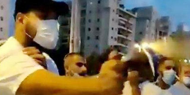 מפגינים נגד נתניהו הותקפו בגז מדמיע בחולון, ארבעה נעצרו