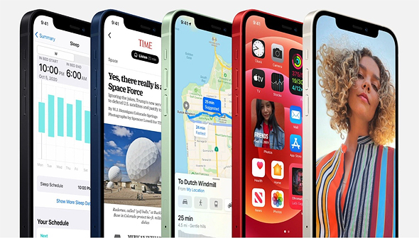 האייפון 12, צילום מסך: אפל