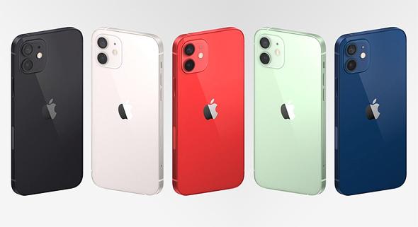 אייפון 12, צילום מסך: אפל