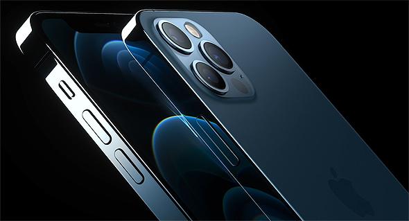 אפל משיקה האייפון 12 פרו, צילום מסך: אפל