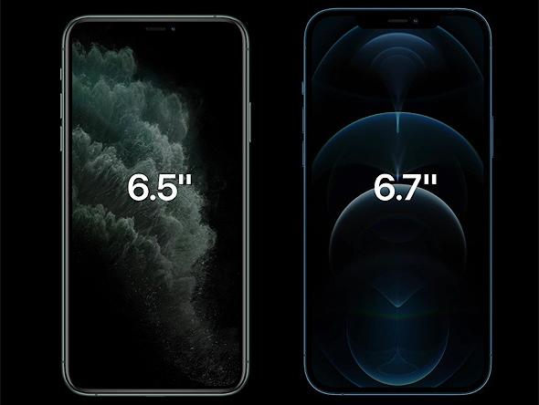 אפל משיקה גדול מסך אייפון 12 פרו, צילום מסך: אפל