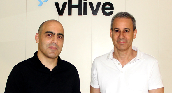 Yariv Geller and Tomer Daniel, co-founders and CEO and CTO of vHive. Photo: PR